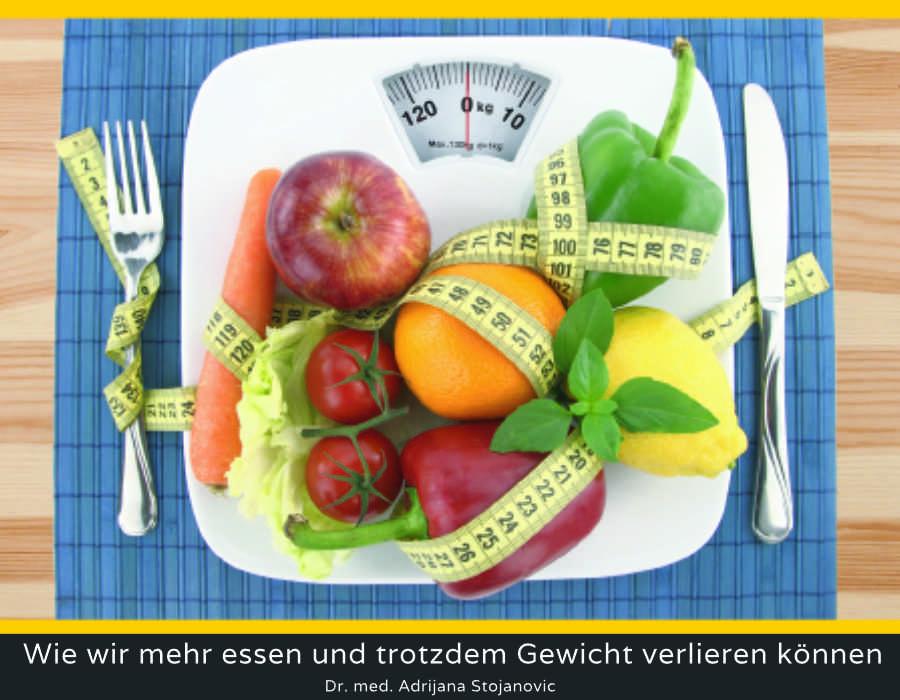 Wie wir mehr essen und trotzdem Gewicht verlieren können – Teil 2 (Thema)
