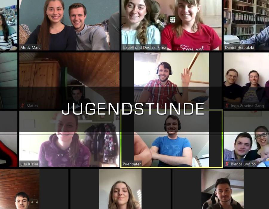 Einladung Digitale Jugendstunde | Adventjugend Ortenau & Freiburg